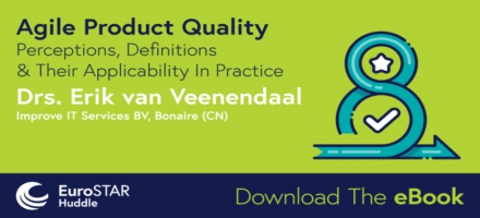 NIEUW E-BOOK GEPUBLISEERD: Agile Product Quality